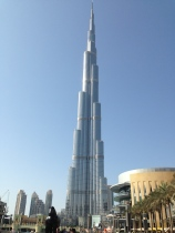 The Burj Khalifa - The World's Tallest Building.