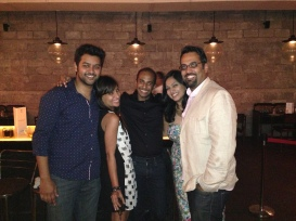 A night out in Mumbai with Bavidra, Nowshad, and Miss Malini!