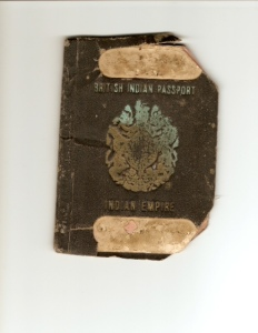 British Indian Passport