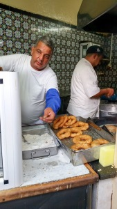 The Donut Man in Sidi Bou Said.